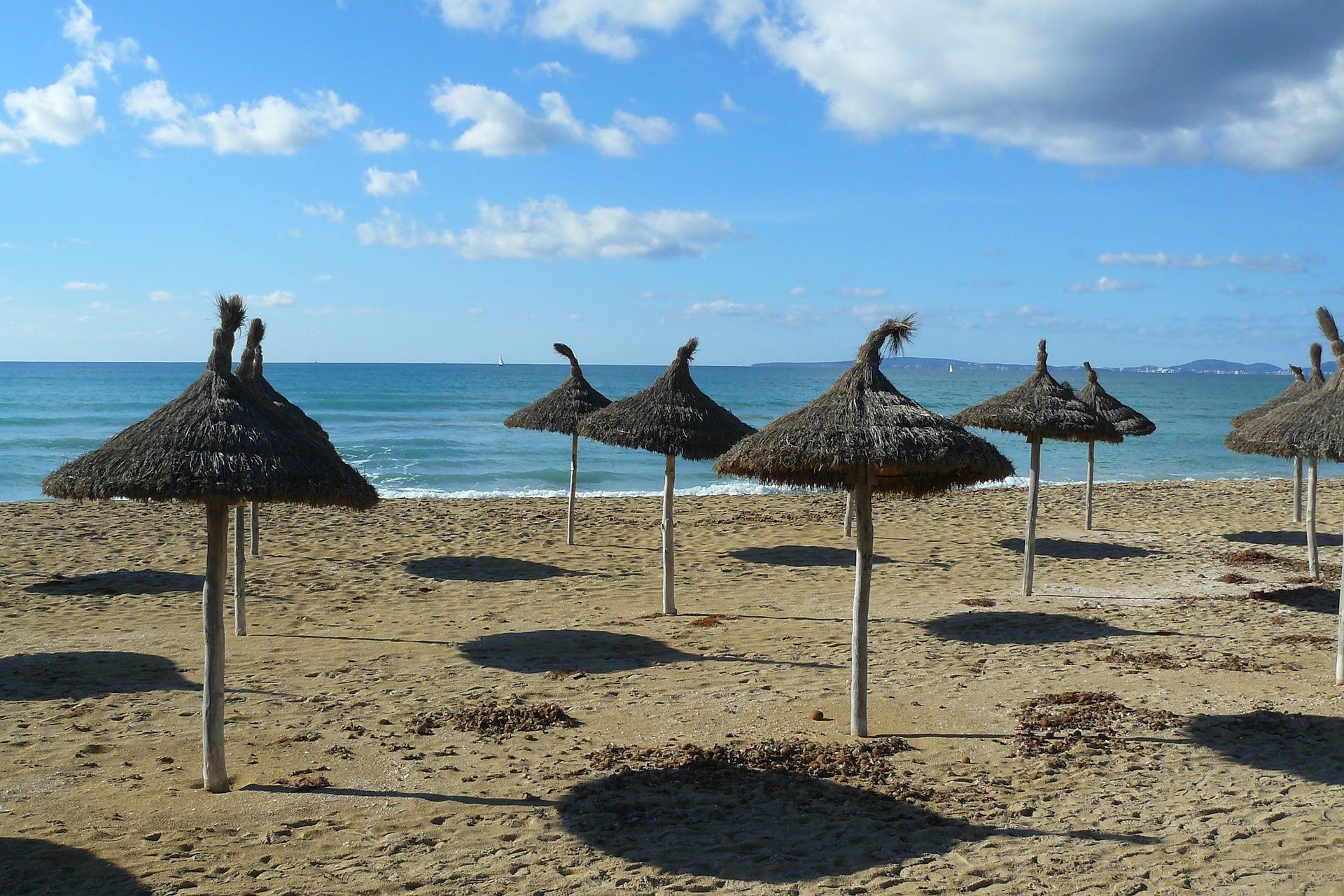 hamacas playa mallorca